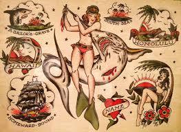 27 best vintage tattoo flash images on pinterest tattoo flash