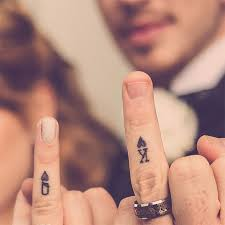 13 brave couples who chose matching wedding tattoos instead of