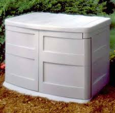 simple backyard plastic storage with large plastic garden storage