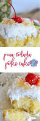 pina colada poke cake kitchen meets