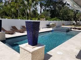 palm beach gardens modern pool u0026 spa custom swimming pool and