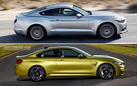 road test 2015 mustang 2015 bmw m4 vs 2015 s550 mustang gt bmw 4 series forums