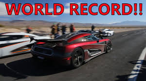 koenigsegg ghost car insane koenigsegg agera rs breaks top speed world record youtube