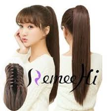 clip on ponytail 16 95g silky claw clip ponytail human hair extensions