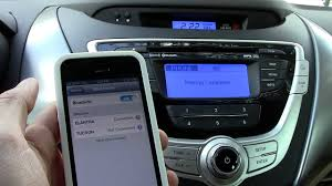 hyundai genesis bluetooth setup iphone 5 bluetooth pairing to your car