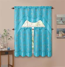 Blue Kitchen Curtains Most Beautiful Kitchen Curtains In St Maarten Penny U0027s