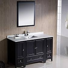 54 Inch Bathroom Vanity Single Sink Design Element Dec082d W London 54