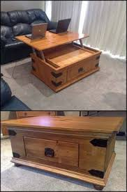 Building A Wooden Desk by Best 25 Lift Top Coffee Table Ideas On Pinterest Used Coffee