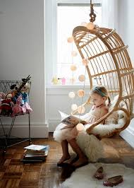 Hanging Seats For Bedrooms by Splurge Vs Save Rattan Hanging Chairs Sheepskin Rugs And
