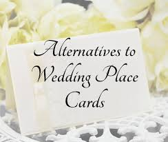 alternatives to wedding place cards belladeux events