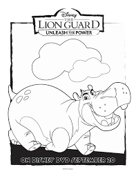 the lion guard coloring pages getcoloringpages com