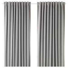 How Much Does It Cost To Dry Clean Curtains Majgull Blackout Curtains 1 Pair Ikea