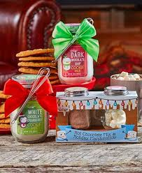 hot cocoa gift set cookie mix or hot cocoa gift sets the lakeside collection