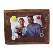 reclaimed tin wood magnetic frame button frames tins