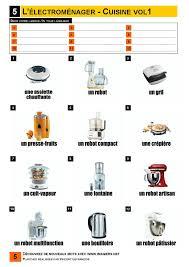 electromenager cuisine l électroménager cuisine 1 vocabulaire imagiers
