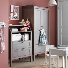 kids storage with sundvik wardrobe and chest of drawers in grey brown sundvik
