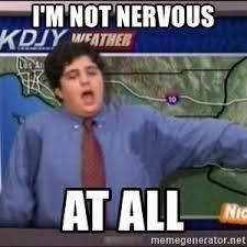 Nervous Meme - nervous josh peck meme generator
