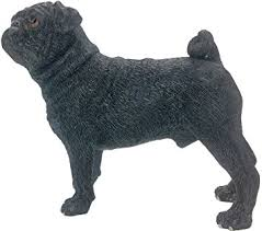 black pug decorative ornament pet figurine co uk