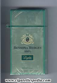 benson and hedges lights menthol l 20 h park avenue emblem in