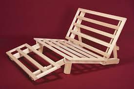 solid wood futon frame tri fold lounger bed futon frame world of futons