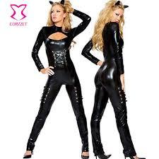 Cat Halloween Costumes Adults Cheap Halloween Costumes Vinyl Aliexpress