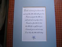 Baby S Room Framed Quote Prayer For Baby U0027s Room 8x10