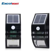 super solar powered motion sensor lights excelvan super bright outdoor solar powered motion activated led