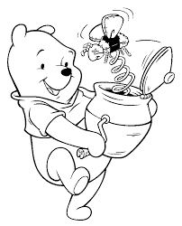 coloring pages winnie pooh disney crafts