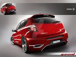 mazda hatchback mazda 3 hatchback by yasiddesign on deviantart