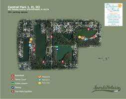 Ormond Beach Florida Map by Central Park Phase I U0026 Ii