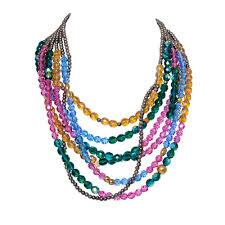 multi color necklace images Multicolor necklace ready to wear alzerina jpg