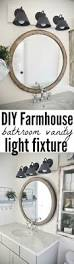 Bathroom Vanity Light Ideas Best 25 Rustic Vanity Lights Ideas Only On Pinterest Mason Jar