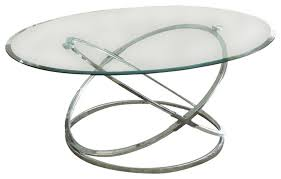 Glass And Chrome Coffee Table Chrome And Glass Coffee Table Dans Design Magz Chrome And