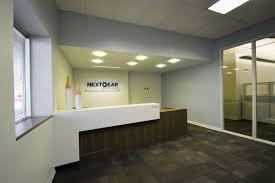 nextgear floor plan reception desk signage carpet tile timely frame bulkhead