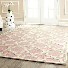 light pink area rug chloe s room sooo cute soft pink rug french inspired on concrete