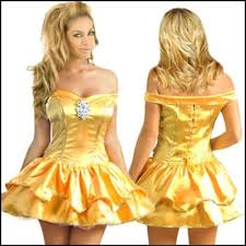 Belle Halloween Costume Women Finding Nemo Fancy Dress Costume Somethinsexy