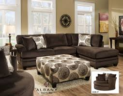 Living Room Sectional Sofa by Chocolate Brown Sectional For Media Game Room Furniture