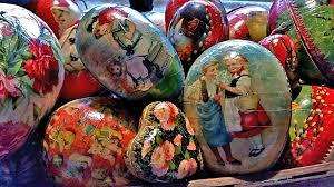 papier mache easter eggs vintage paper mache easter eggs new ones for my flickr a flickr