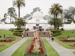 Botanical Gardens Golden Gate Park by Colorful Golden Gate Park Wedding Melanie Duerkopp Photography