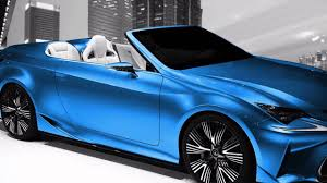 lexus convertible sports car 2017 2018 lexus lf c2 exhaust note youtube