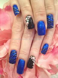 eye candy nails u0026 training nails gallery gold black and peach
