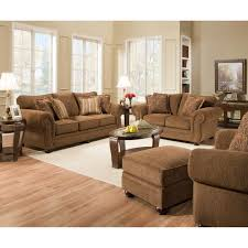 Simmons Living Room Furniture Simmons Upholstery Outback Chocolate Seating Hayneedle