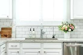subway tile ideas kitchen white subway tile backsplash ideas white contemporary kitchen with