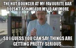 Bouncer Meme - bar bouncer meme golf sandpoint elks