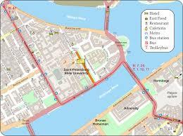 B47 Bus Route Map место проведения конференции и транспорт Radiation Mechanisms Of