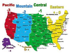 usa time zone map est click on map to learn about best times to call in usa with all