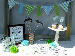 diy baby boy shower decorations decorating of party