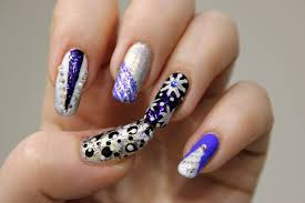 new years eve glitter placement nail art tutorial new years eve
