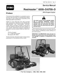 95871sl pdf reelmaster 6500 d 6700 d w peugeot engine rev d