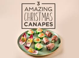 how to canapes 3 amazing canapes